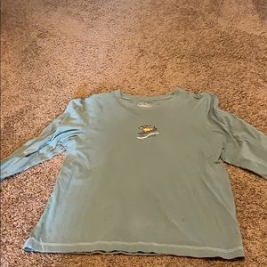Life is good long sleeve shirt size medium dog